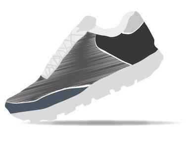 Vecteur - course  pied - entrainement - sport